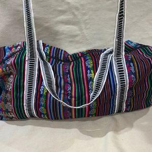 Handbags - Peruvian Authentic Handmade Duffle Bag Incan